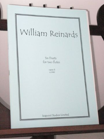 Reinards W - Six Duets Op 6 for Two Flutes